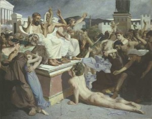 So you want to run a marathon? Phidippides did and died. Don't be Phidippides.