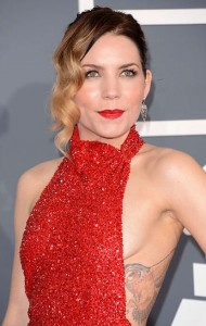 Skylar Grey at the 2013 Grammy Awards