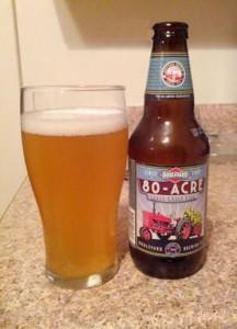 80 acre hoppy wheat ale