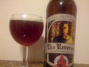Avery Brewing The Reverend